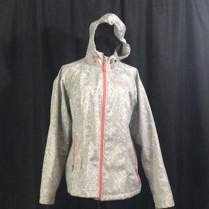 Free country lightweight waterproof jacket